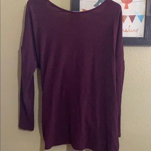 Medium open back knotted sweater